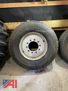 Gradall Spare Tire, 385-65R22.5