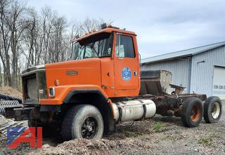 1995 WhiteGMC Autocar (ACL) Cab and Chassis