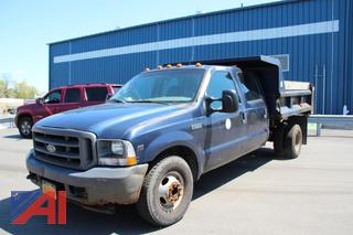 2003 Ford F350 Dump Truck **Parts Only**