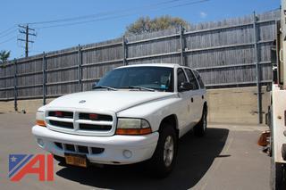 2001 Dodge Durango SUV/Emergency Vehicle