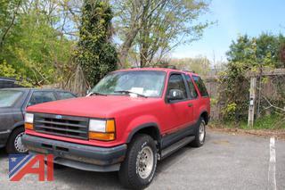 1992 Ford Explorer SUV