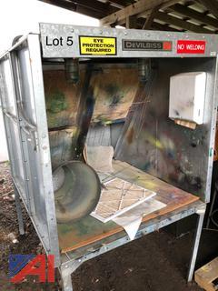 DeVilbiss Spray Booth