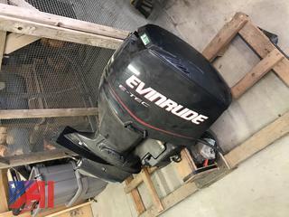 2004 Evinrude E-TEC Outboard Motor **For Parts**