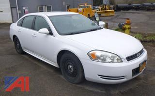 2011 Chevy Impala Sedan Police Cruiser
