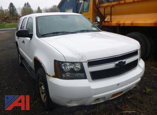 2007 Chevy Tahoe SUV/Police Vehicle
