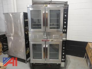Vulcan Stainless Steel Double Stacked Ovens