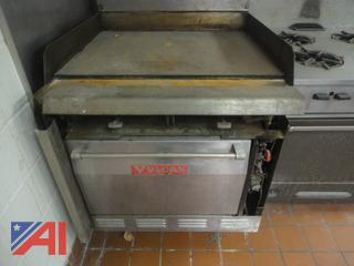 Vulcan Grill top Stove with Oven