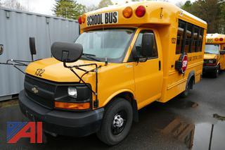 (#132) 2014 Chevy G3500 Express Mini School Bus