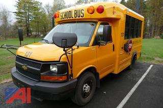 (#131) 2014 Chevy G3500 Express Mini School Bus