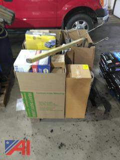 Pallet of Miscellaneous Filters, Belts and More