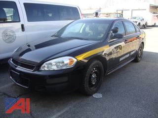 (#1765) 2015 Chevy Impala 4 Door Police Vehicle