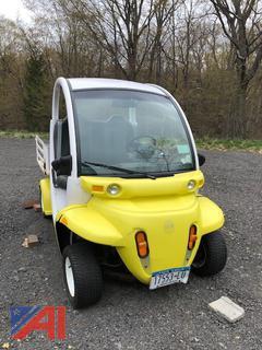 2002 Gem E825 2 Seater Cart