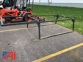 Ladder Rack for 8' Pickup Truck Bed