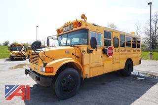 2003 International Blue Bird Mid Size School Bus/95