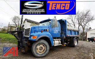 2002 Sterling L9000 All Season Dump Truck with Wing