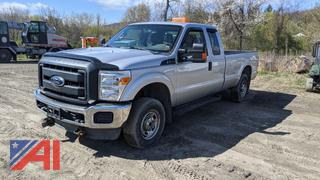 2013 Ford F250 XLT Super Duty Extended Cab Pickup Truck