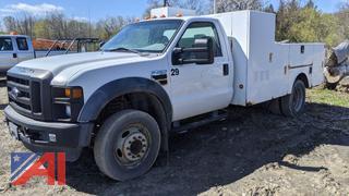 2009 Ford F450 XL Super Duty Utility Pickup Truck