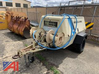 1995 Ingersoll-Rand P185 Tow Behind Air Compressor