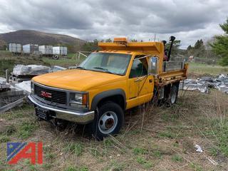 1998 GMC Sierra C/K 3500 Dump Truck & Plow