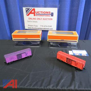 Atomic Energy Commission Box Cars
