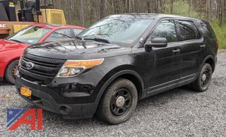 2014 Ford Explorer SUV/Police Interceptor