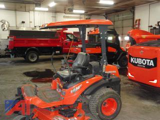 """2012 Kubota ZG327-PA60 60"""" Mower"""
