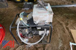 (#9) Pow'r Gard AE8 Propane Generator, 8 KW