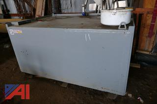(#11) Highland UL-142 Above Ground Diesel Tank on Supports