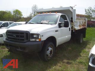 2002 Ford F450 Super Duty Dump Truck