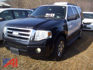 2009 Ford Expedition XLT SUV/Police Vehicle