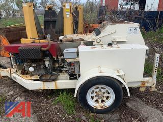Allentown Pro Concrete Gunite Pump