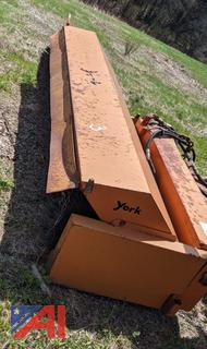 York 10' Broom with Plow Truck Hitch