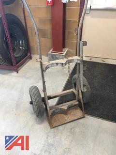 Welder and Torch Cart