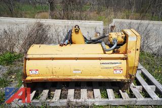 "Diamond Boom 50"" Hydraulic Flail Mower Tractor Attachment"