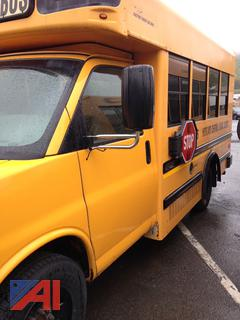 (156) 2010 Chevy/Collins Express G3500 Mini School Bus