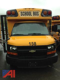 (158) 2011 Chevy Express G3500 Mini School Bus