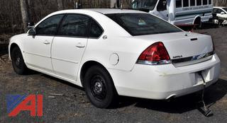 2007 Chevy Impala Sedan/Police Vehicle (Parts Only)