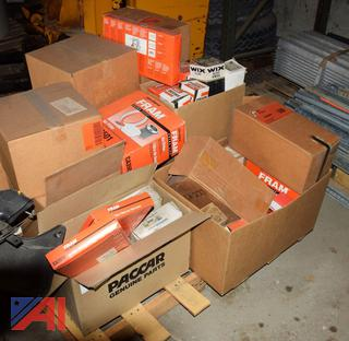 Pallet of Misc. Air and Oil Filters