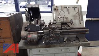 Metal Turning Lathe with Table