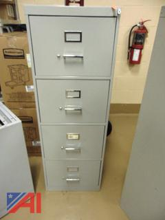 Legal Four Drawer Filing Cabinet