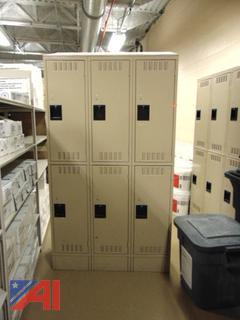3 Sets of Lockers