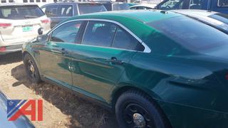 2013 Ford Taurus 4DSD/Police Vehicle