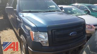 2014 Ford F150 Pickup Truck with Cap