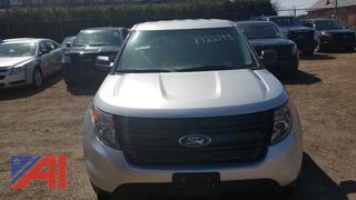 2015 Ford Explorer SUV/Police Interceptor