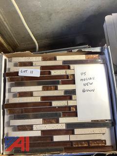 New Mosaics - Brown