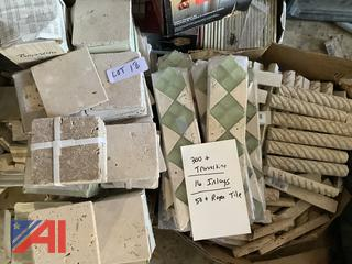 Travertine, Inlays and Rope Tile