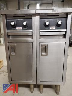 Four Burner Electric Commercial Stove