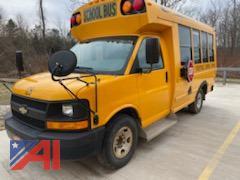 2013 Chevy/Microbird Express G3500 Mini School Bus