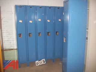 Hallowell Metal Lockers
