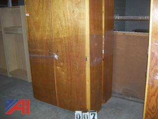 Wooden Wardrobes